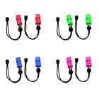2pcs Emergency Survival Safety Whistles with Wrist Strap for Diving Kayaking