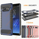Hard PC+Soft TPU Shockproof Protective Back Case Cover for Samsung Galaxy Note 8