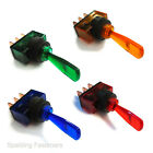 Electrical Toggle Switches 20A @ 12V - Various Colours