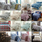 Clearance Easycare Bedding Duvet Quilt Cover and Pillowcases, Multi Listing