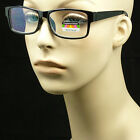Reading glasses no line progressive clear lens new bifocal 3 power in 1 reader