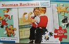 "500 PIECE NORMAN ROCKWELL JIGSAW PUZZLES 18.25""x11"", SELECT: Picture"