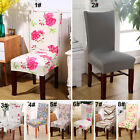 Removable Elastic Stretch Slipcovers Short Dining Room Chair Seat Cover Décor :)