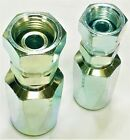 BSP Female Hydraulic Field Fittings Reusable Two Wire Braid Fittings