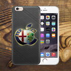 alfa romeo luxury car Logo Thin UV Case Cover Apple iPhone HTC Huawei P9 LG