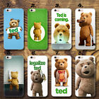 Ted Ted2 Cute Bear ted movie Thin  UV Case Cover Apple iPhone HTC Huawei P9 LG