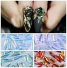 10pcs DIY Crystal Rhinestone Tips Glitter Decoration Diamond Nail Art Accessory
