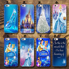 CINDERELLA DISNEY PRINCE Thin UV Case Cover Apple iPhone 4 5 6 7 Plus 8 8 Plus
