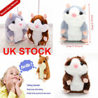 Cute Talking Nod Hamster Mouse Record Chat Mimicry Pet Plush Toy Xmas Gift SALE