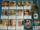 LOST / HEROES / CSI Ltd Edition Autograph & Show Worn Costume Cards. CULT TV
