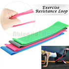 4 PCS Resistance Loop Band Exercise Yoga Bands Rubber Fitness Training Strength image