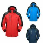 Men Sport Waterproof Hiking Jacket Coat Winter Ski Outdoor Rain Coat Hoodie Coat