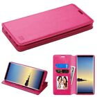 For Samsung GALAXY Note 8 Leather Folio Flip Wallet Case Phone Cover Stand Pouch