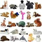Soft Toy Teddy Plush 20cm Animal Farm Chimp Jungle Squirrel Fox Owl Flopsie