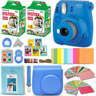 Fujifilm Instax Mini 9 Instant Camera (color) + 40 Sheet Film+Accessory KIT