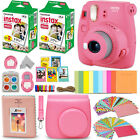 Fujifilm Instax Mini 9 Instant Camera (color) + 40 Sheet Film+Accessory KIT <br/> Accessory Gift Box!! Case, Album, Stickers, Frames...
