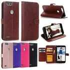 For ZTE Blade Z Max (Pro 2) / Sequoia Z982 Leather Wallet Card Stand Case Cover