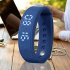 H5S RealTime Temperature Monitor 3D Step Counting Heart Rate Test Smart Bracelet