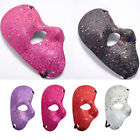 Glitter Phantom of the Opera Half Face Men Masquerade Mask Costume Prom Party