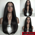 Glueless Full Lace Wig Brazilian Remy Human Hair Lace Front Wigs Silky Straight