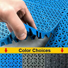VinTile Modular Interlocking Cushion Floor Tile Mat Drain Deck Pool Shower Bath