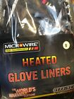 Gerbing's Heated Clothing Gloves Liner Unisex Black Connect to motorcycle 12V DC