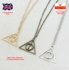 "Harry Potter ""deathly Hallows"" Pendant Necklace Jewellery"