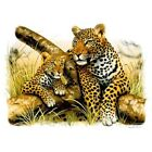 Leopard And Cub  T Shirt You Choose Style, Size, Color 10732 image