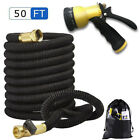 50FT Expanding Flexible Water Hose Pipe Home Garden Hose Watering High Quantity