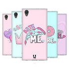 HEAD CASE DESIGNS PASTEL OVERLAYS SOFT GEL CASE FOR SONY XPERIA L1