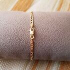 14k Yellow Gold Bracelet - Figaro Chain -