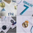 New Real Madrid HOME AWAY 2017-2018 Shirt Soccer League Jersey Ronaldo