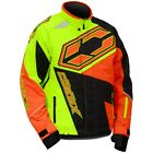 Castle X Men's Launch SE G4 Hi-Vis/Orange Insulated Snowmobile Jacket 70-551X