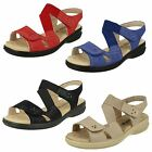 Ladies Padders Louise Synthetic Sandals 3E Extra Wide Width