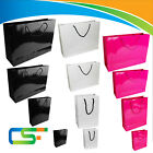 NEW LUXURY  PAPER BAG GLOSSY GLOSY PAPER BAGS RETAIL SHOP GIFT BAGS