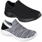 Womens YOU By Skechers Walking Casual Comfy Knit Slip On Shoes Sizes 4 to 8