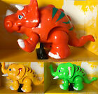 LIGHT & MUSIC BATTERY OPERATED DINOSAUR WORLD TOY FOR KIDS OVER 3 GREEN YELLOW