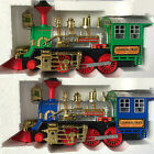 LIGHT & MUSIC BATTERY OPERATED BUMP & GO CLASSICAL TRAIN TOY FOR KIDS OVER 3