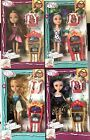 NEW FASHION DRESS UP FAIRY TALE GIRL DOLL SET WITH ACCESSORIES BAG SHOES TOY