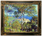 Monet Bordighera Framed Canvas Print Repro 20x24