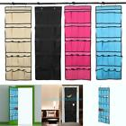 20 Pocket Over the Door Shoes Organizer Storage Rack Hanging Space Saver Hanger