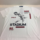 Polo Ralph Lauren 1992 Stadium Collection 25th White Size S ~ L Free Shipping