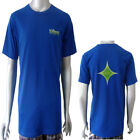 Disfigured Green Star Progressive Psy Trance Crystal Mens Boys T-Shirt Size S