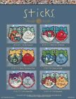 Mill Hill Holiday Ornaments By Sticks - 6 Designs to choose from