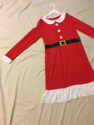 CARTERS: Mrs. Clause Night Gown/Dress w/Santa Suit Screen Print/Design: 12-14