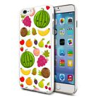 For Various Phones Design Hard Back Case Cover Skin - Mixed Fruits
