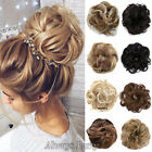Women's Fashion Pony Tail Hair Extension Curly Bun Hairpiece Scrunchie NEW Style
