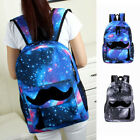 Unisex Universe Space Backpack Travel Rucksack Canvas Storage School Bag HOTSALE