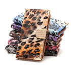 5.5'' inch Leopard Pattern PU Leather Wallet Flip Case Cover For iPhone 6S Plus