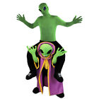 ALIEN RIDING ALIEN PICK ME UP HALLOWEEN COSTUME FUNNY STAG FANCY DRESS RIDE ON